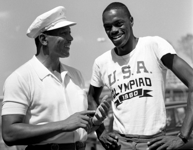 Jesse Owens Ralph Boston 1960