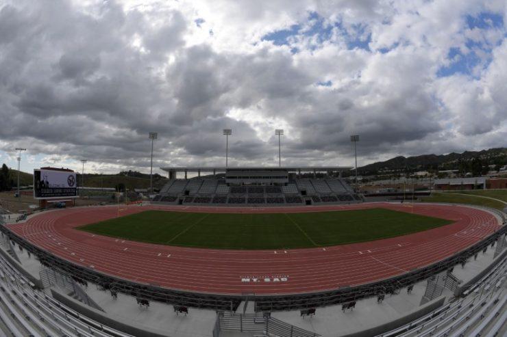 Mt SAC track